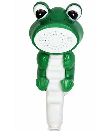 Little Nests Frog Shape Hand Shower - Green