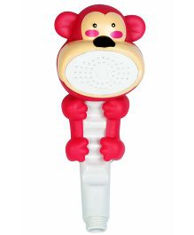 Little Nests Monkey Shape Hand Shower - Red