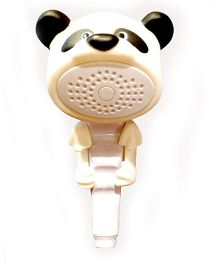 Little Nests Panda Shape Hand Shower - White And Black