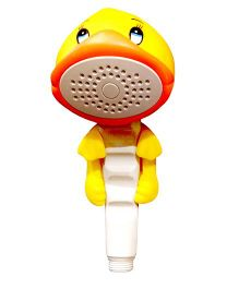 Little Nests Duck Shape Hand Shower - Yellow