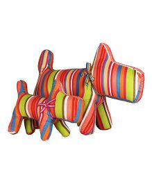 Little Nests Striped Cushions Multicolor - 2 Pieces