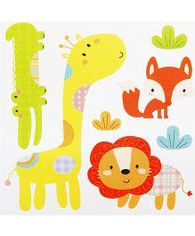 Little Nest 3D Stickers Jungle Theme - Multi Color