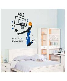 Little Nests DIY Wall decals - Black And Blue