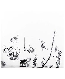 Little Nests DIY Deep Sea Wall Decals - Black And White