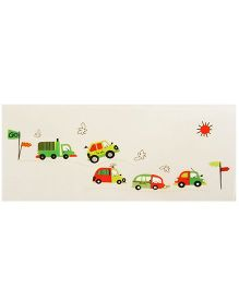 Little Nests DIY Transportation Theme Wall Decals - Multicolor