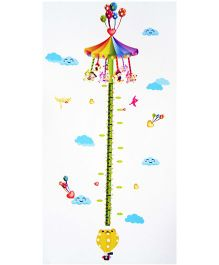 Little Nests DIY Carnival Design Height Measuring Stickers - Multicolor