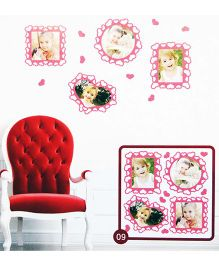 Little Nests DIY Photo Frames Pink - 4 Pieces
