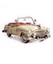 Little  Nests Retro Car Miniatures - Cream
