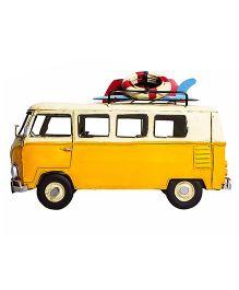 Little  Nests Retro Bus Miniatures - Yellow