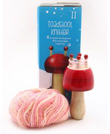 Caravan Evolved Craft The Toadstool Knitter - Red