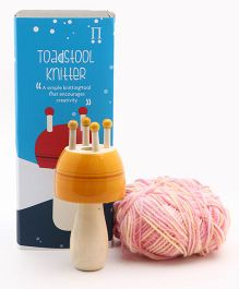 Caravan Evolved Craft The Toadstool Knitter - yellow