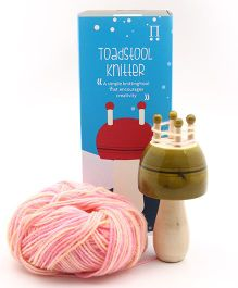 Caravan Evolved Craft The Toadstool Knitter - Green