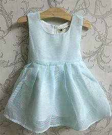 Piperz Elegant Party Dress - Sky Blue