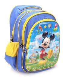 Disney Mickey School Bag Blue - 17 Inches