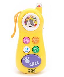 Mee Mee Cheerful Baby Phone - Yellow And Purple