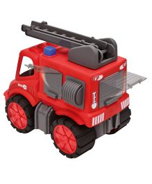 Big Toy Power Worker Firefighters Truck - Red