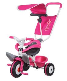 Smoby Baby Balade Tricycle - Pink