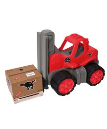 Big Toy Worker Forklift Truck - Red
