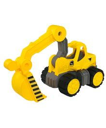 Big Toy Worker Digger - Yellow