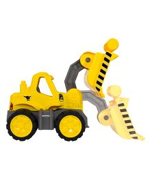 Big Toy Worker Wheel Loader - Yellow
