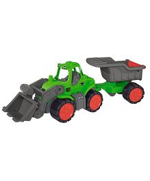 Big Toy Worker Tractor Dumper - Green