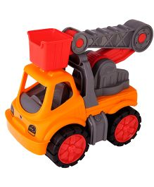 Big Toy Worker Service Crane - Orange