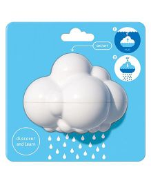Saffire Rain Cloud Baby Bath Toy - White