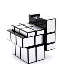Saffire Shengshou Silver Mirror Cube - Silver