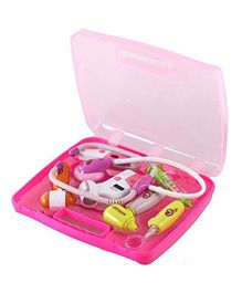 Saffire Doctor Toy Set with Light Sound Effects - Pink