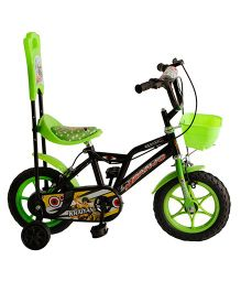 Khaitan Economy Bicycle Green - 14 Inches