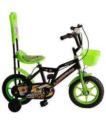 Khaitan Economy Bicycle Green - 12 Inches