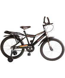 Khaitan Bicycle Sharp Black - 20 Inches