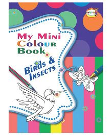My Mini Color Book Birds And Insects - English