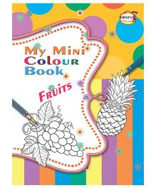 My Mini Color Book Fruits - English