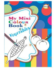 My Mini Color Book Vegetables - English
