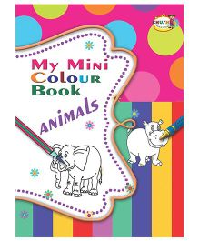 My Mini Color Book Animals - English