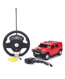 Classic Red Remote Controlled Car - Red