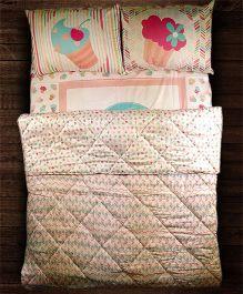 Paper Rockets Cupcakes Blankets - Multicolor