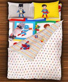 Paper Rockets Super Heroes Blankets - Multicolor