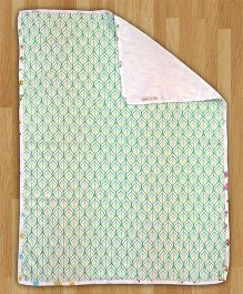Paper Rockets Baby Animals Infant Coverlet - Multicolor