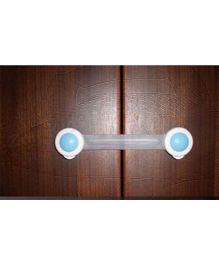 EZ Life Child Safety Multipurpose Shutter Lock Large (Set of 2) -  White