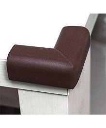 EZ Life Child Safety EVA Soft Foam Corner Guards (Set of 4) - Multi color