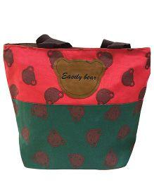 EZ Life Kids Carry Bag Bears Big - Red & Green