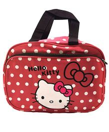 EZ Life Kids Double Pocket Carry Bag  - Pink & Red