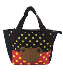 EZ Life Kids Carry Bag Small Bear - Red & Black