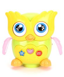 Little Owl Doctor Musical Toy - Green Yellow