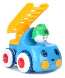 Toy Fire Engine - Blue Yellow