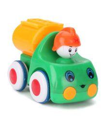 Toy Truck - Green Orange