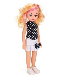 Musical Doll With Golden Hair - 15 Inches