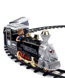 Remote Controlled Musical Train - Black Blue